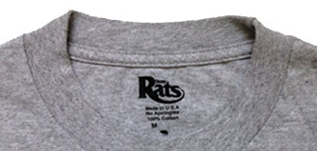inside tag label t-shirt printing