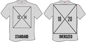 oversized and jumbo t-shirt printing