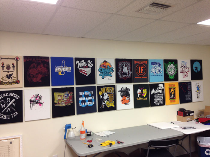 t-shirt-wall-display-board